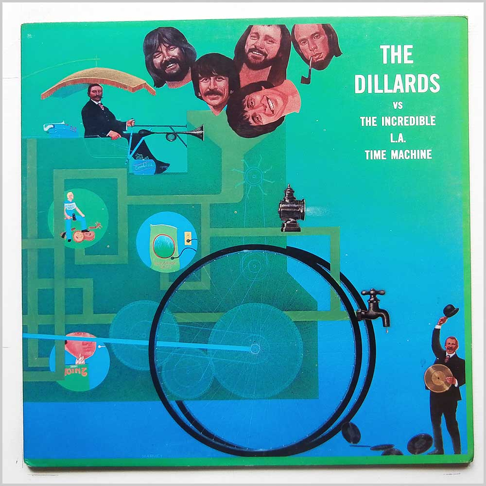 The Dillards - The Dillards vs The incredible L. A. Time Machine (FF-040)