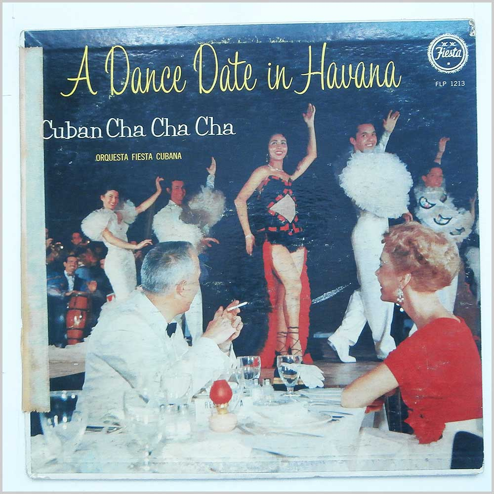 Orquesta Fiesta Cubana Under The Direction Of Cheo Belen Puig - A Dance Date In Havana (Cuban Cha Cha Cha) (FLP-1213)
