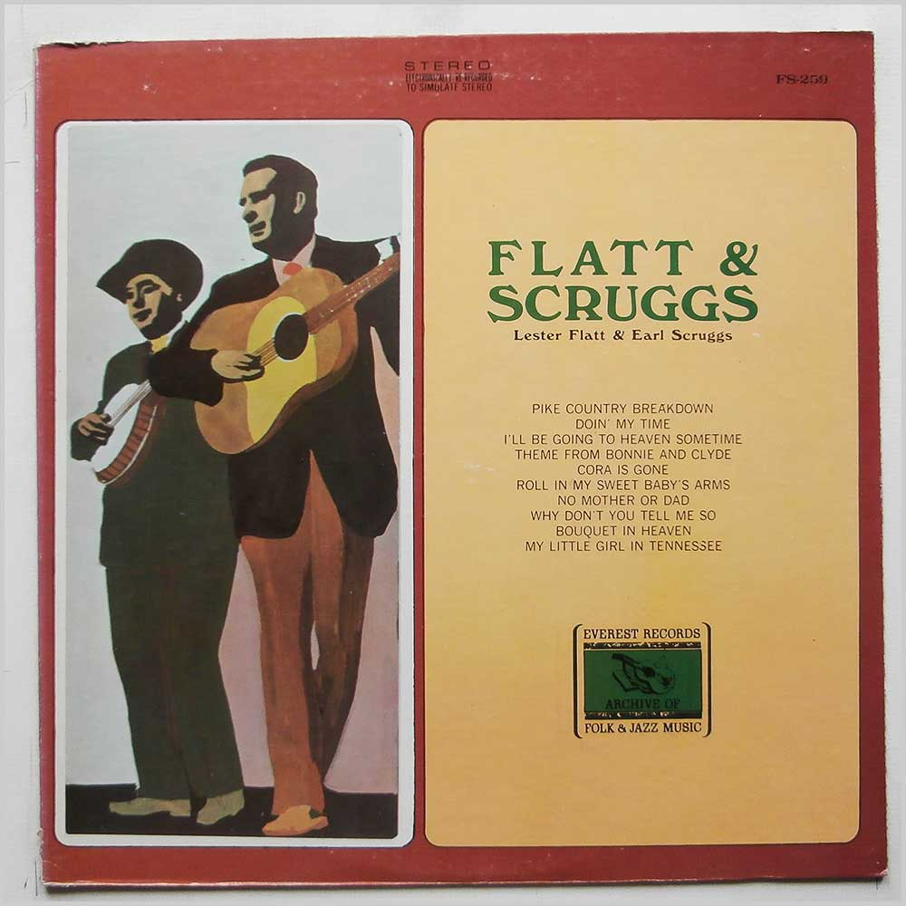 Flatt and Scruggs - Lester Flatt and Earl Scruggs (FS-259)
