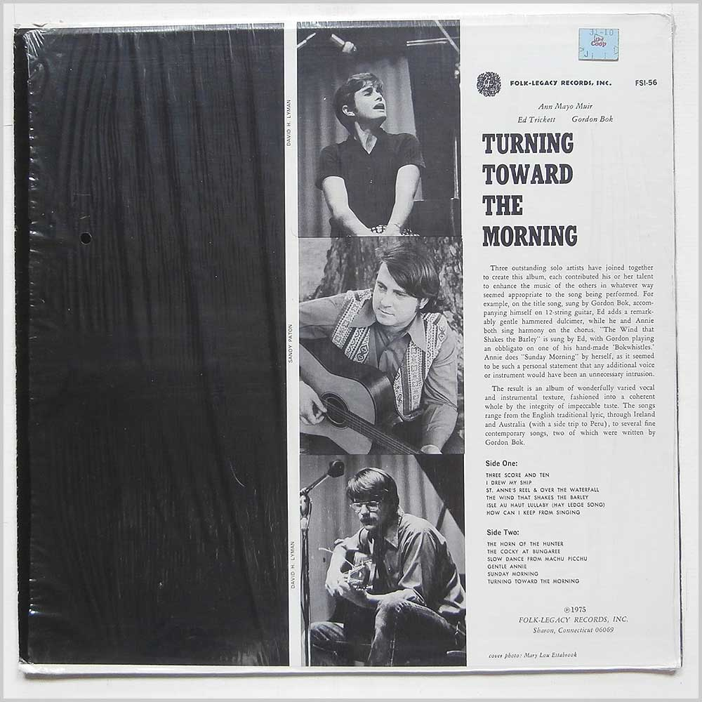 Gordon Bok - Turning Toward The Morning (FSI-56)