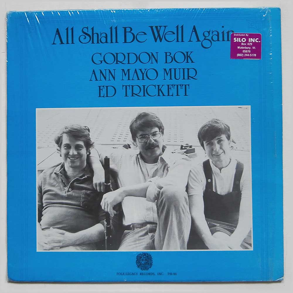 Gordon Bok - All Shall Be Well Again (FSI-96)