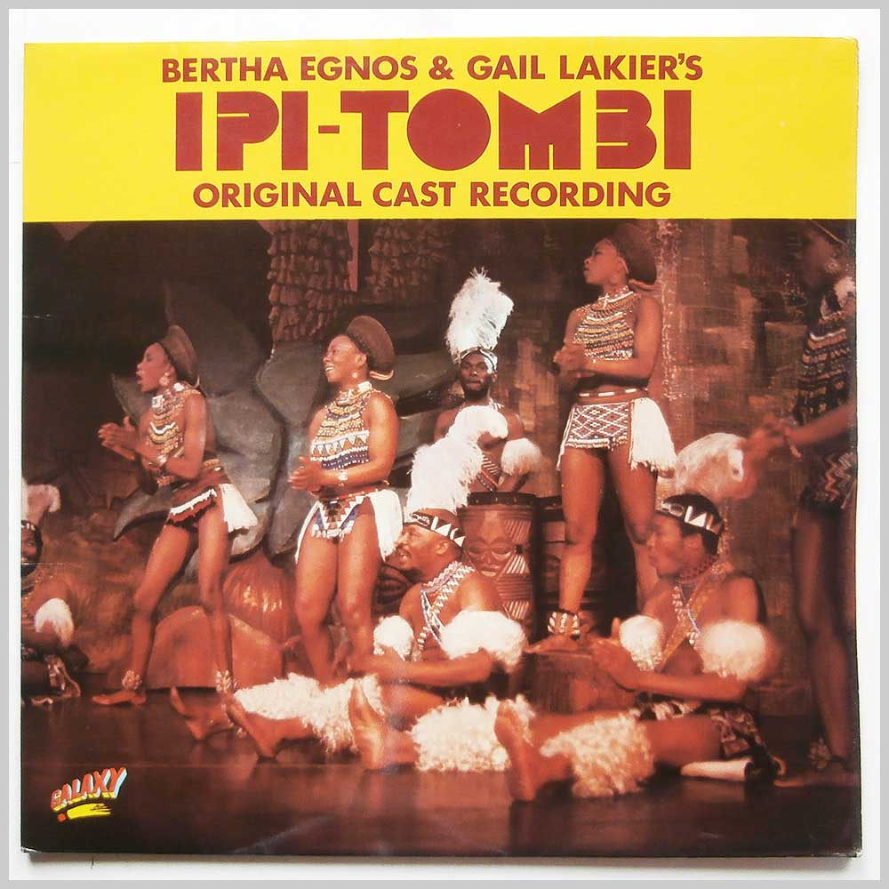 Bertha Egnos and Gail Lakier - Ipi Tombi: Original Cast Recording (GALD 26000)