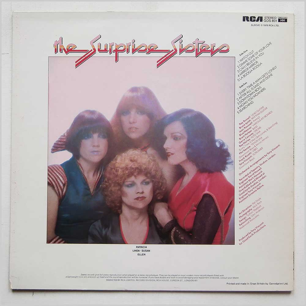 The Surprise Sisters - The Surprise Sisters (GDS 801)