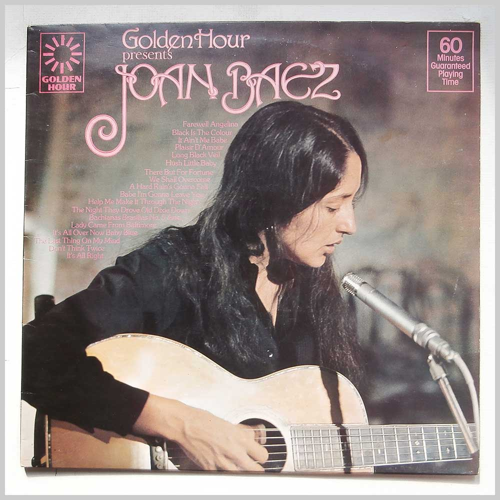 Joan Baez - Golden Hour Presents Joan Baez (GH 843)