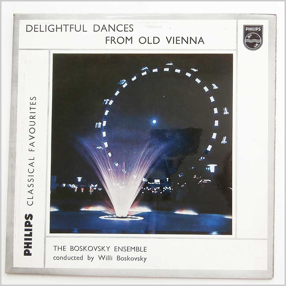 The Boskovsky Ensemble - Delightful Dances From Old Vienna (GL 5682)