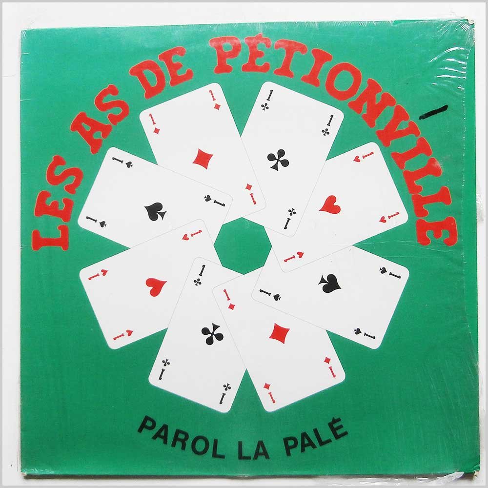 Les As De Petionville - Parol La Pale (GP 4005)