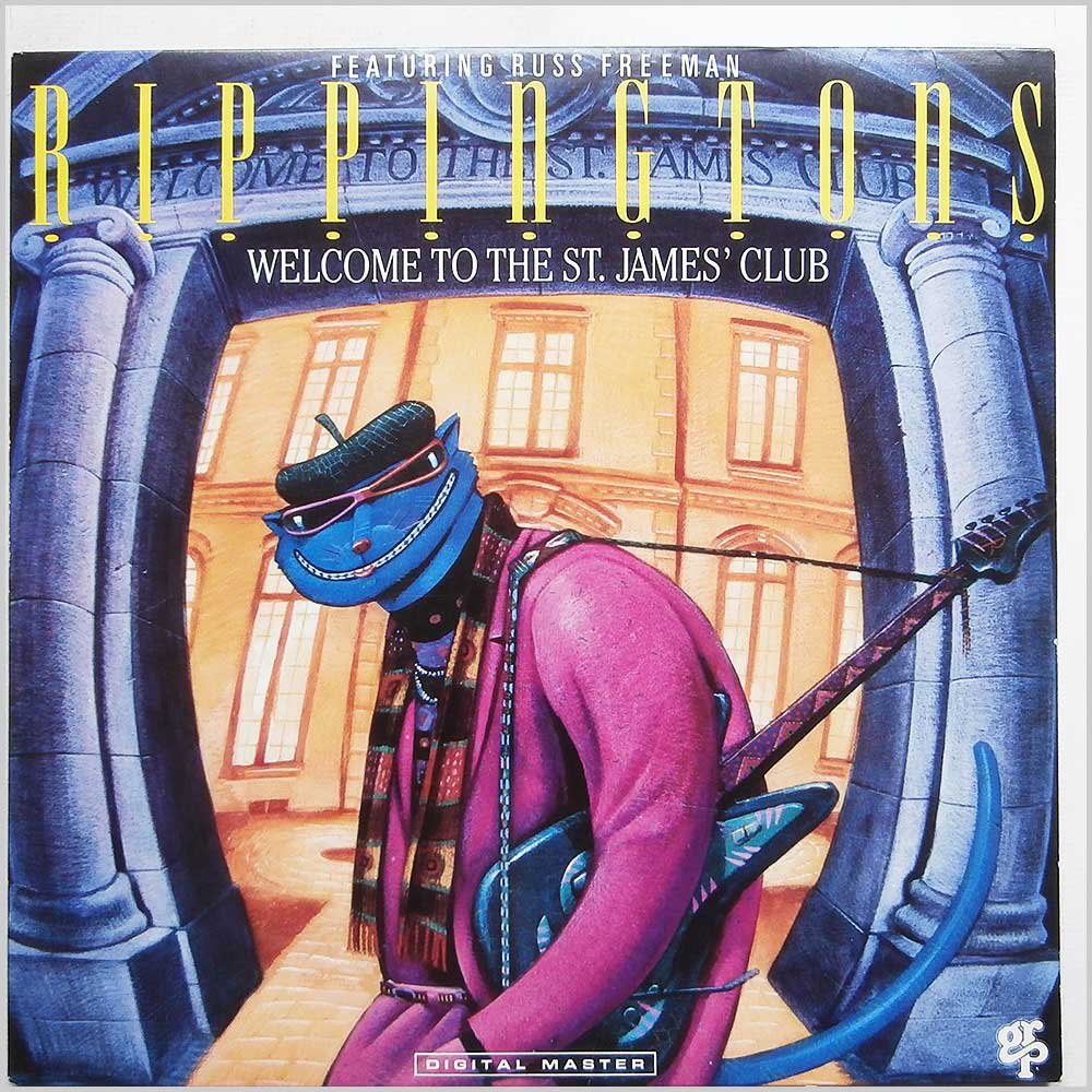 The Rippingtons Featuring Russ Freeman - Welcome To The St. James' Club (GR-9618)