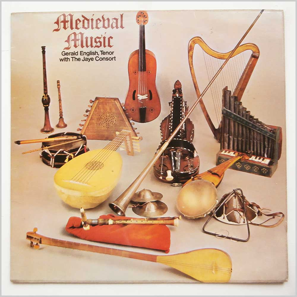 Gerald English With The Jaye Consort - Medieval Music (GSGC14092)