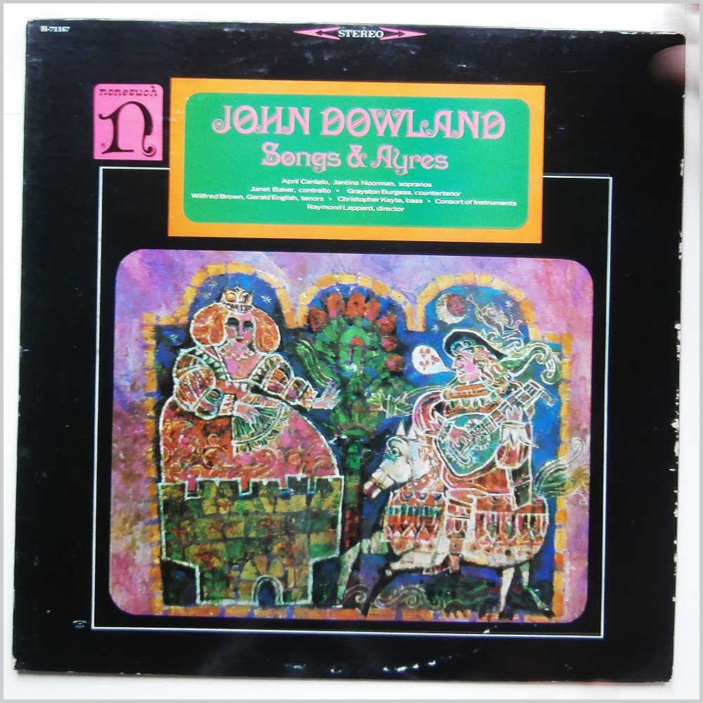 John Dowland - Songs And Ayres (H-71167)