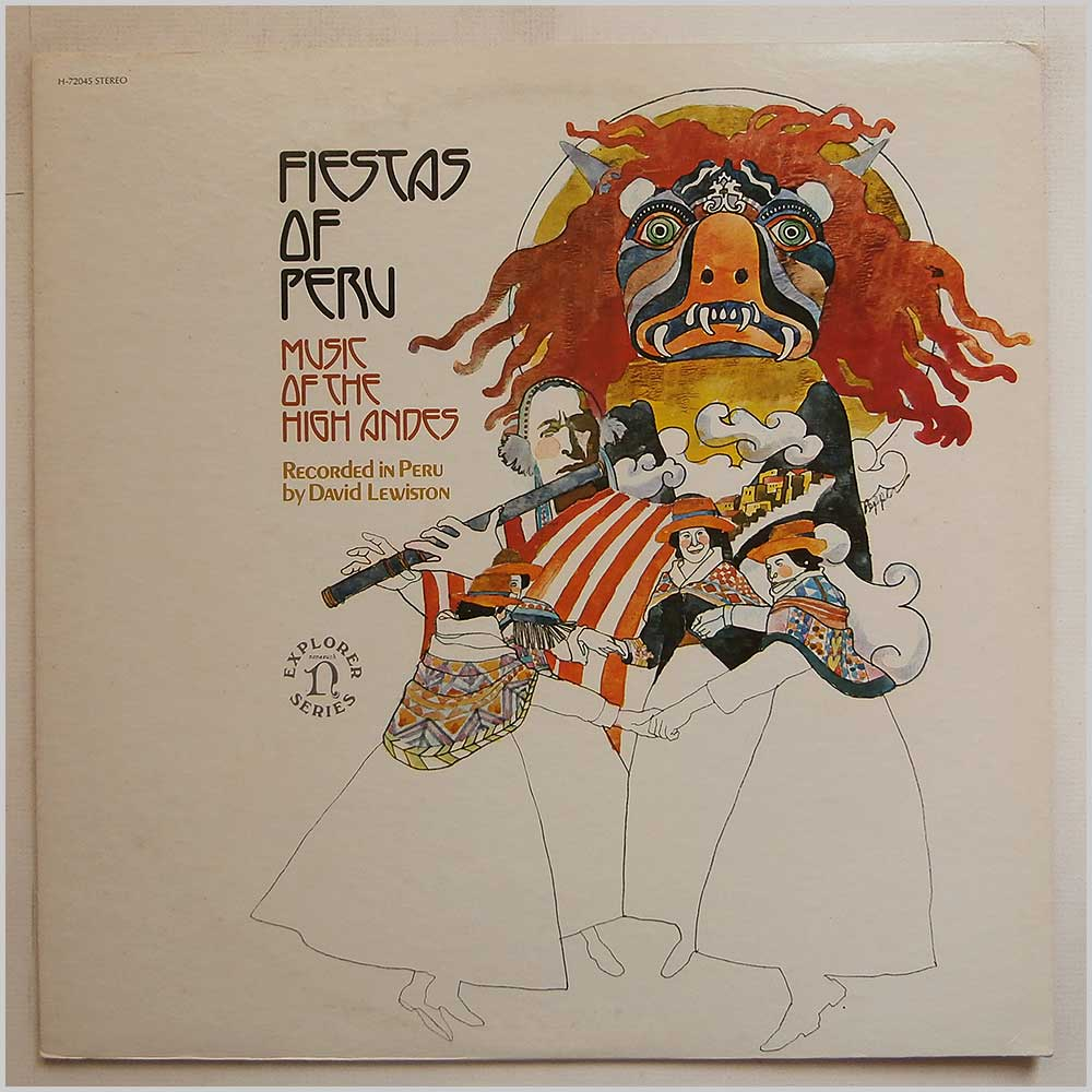 Various - Fiestas Of Peru: Music Of The High Andes (H-72045)