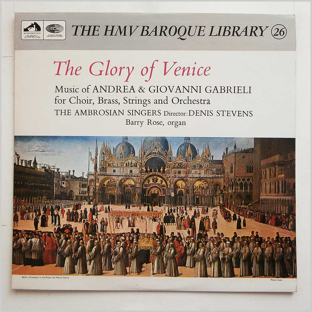 The Ambrosian Singers - The Glory Of Venice (HQS 1093)