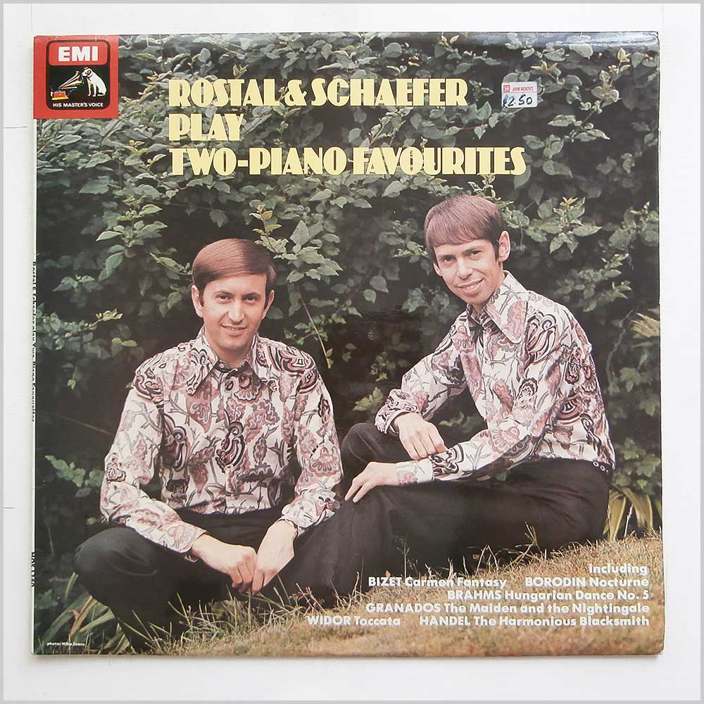 Rostal And Schaefer - Rostal And Schaefer Play Two-Piano Favourites (HQS 1360)