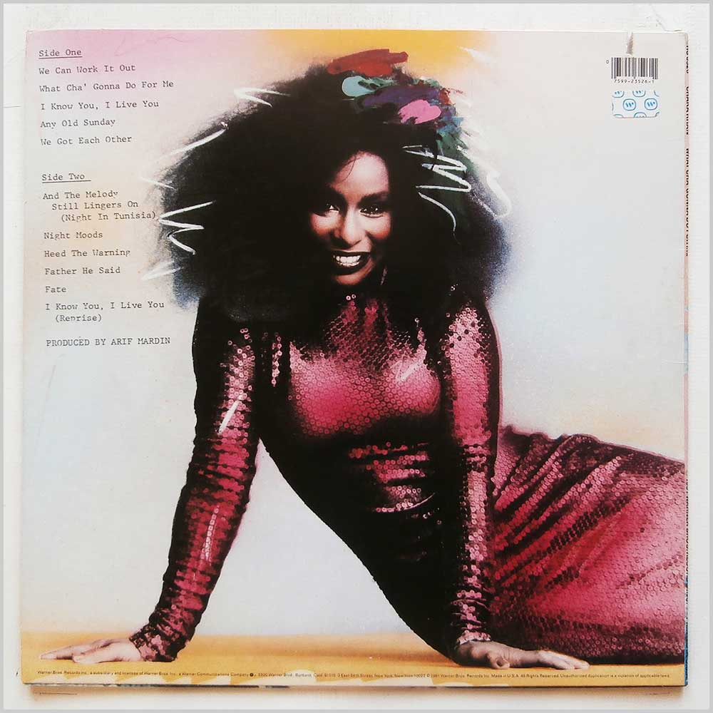 Chaka Khan - What Cha' Gonna Do For Me (HS 3526)