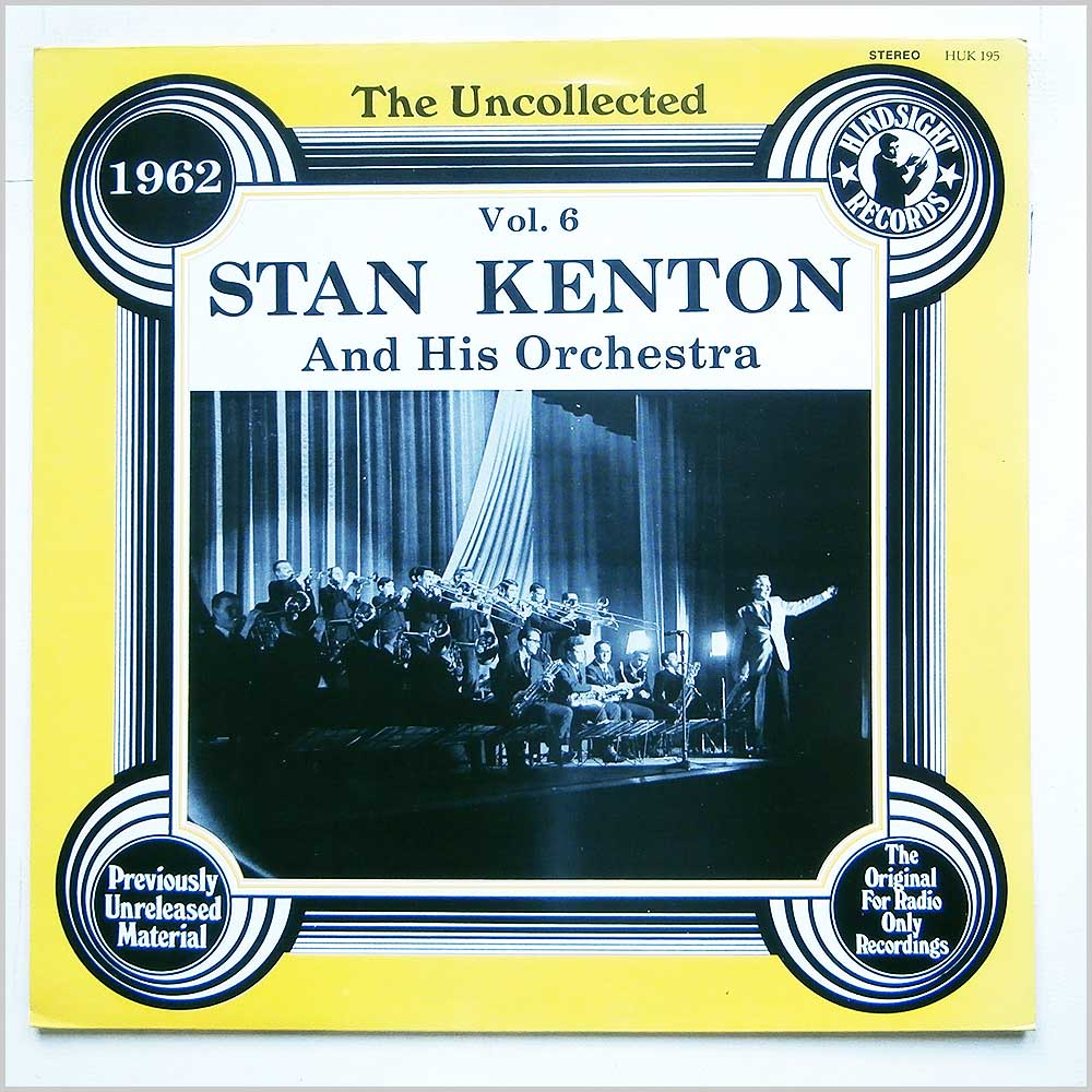 Stan Kenton - The Uncollected Vol 6 1962 (HUK-195)