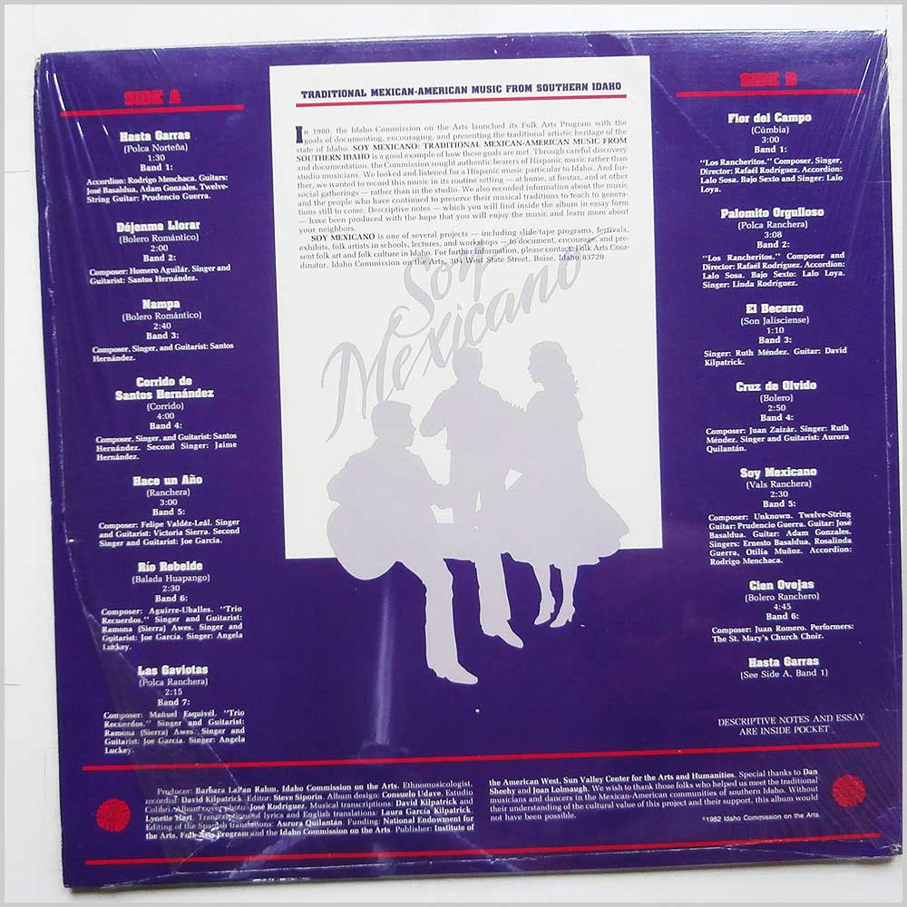 Various - Son Mexicano: Traditional Mexican-American Music From Southern Idaho (ICA001)