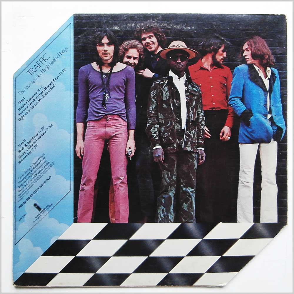Traffic - The Low Spark Of High Heeled Boys (ILPS 9180)