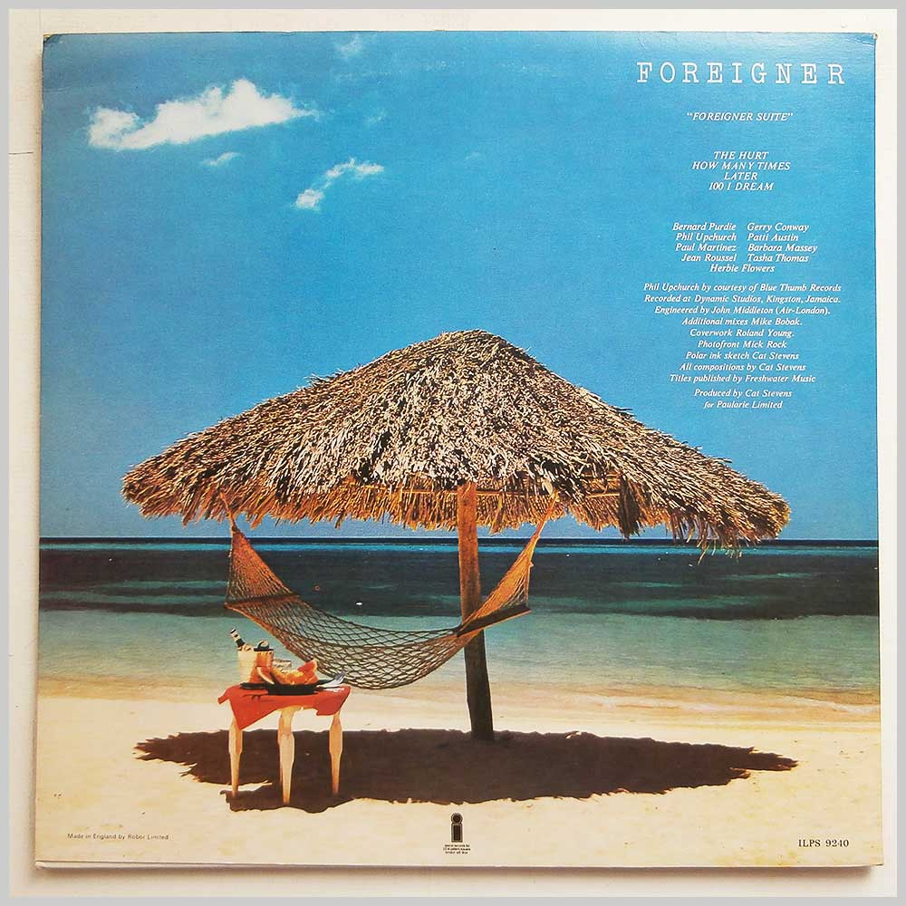 Cat Stevens - Foreigner (ILPS 9240)