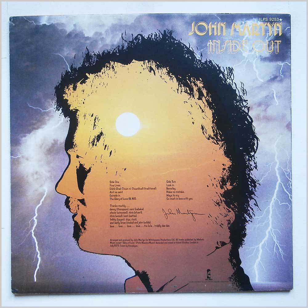 John Martyn - Inside Out (ILPS 9253)