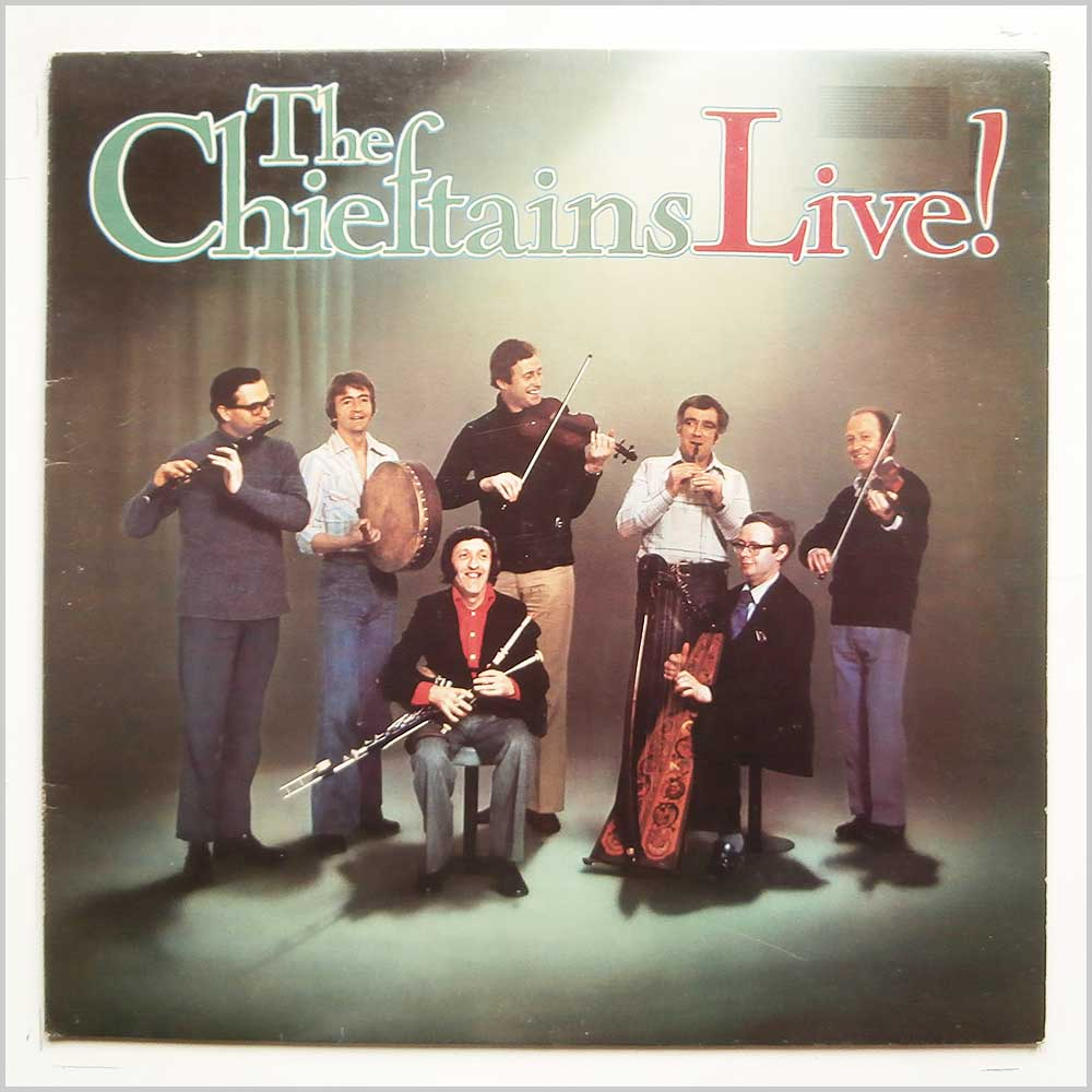The Chieftains - The Chieftains Live (ILPS 9501)