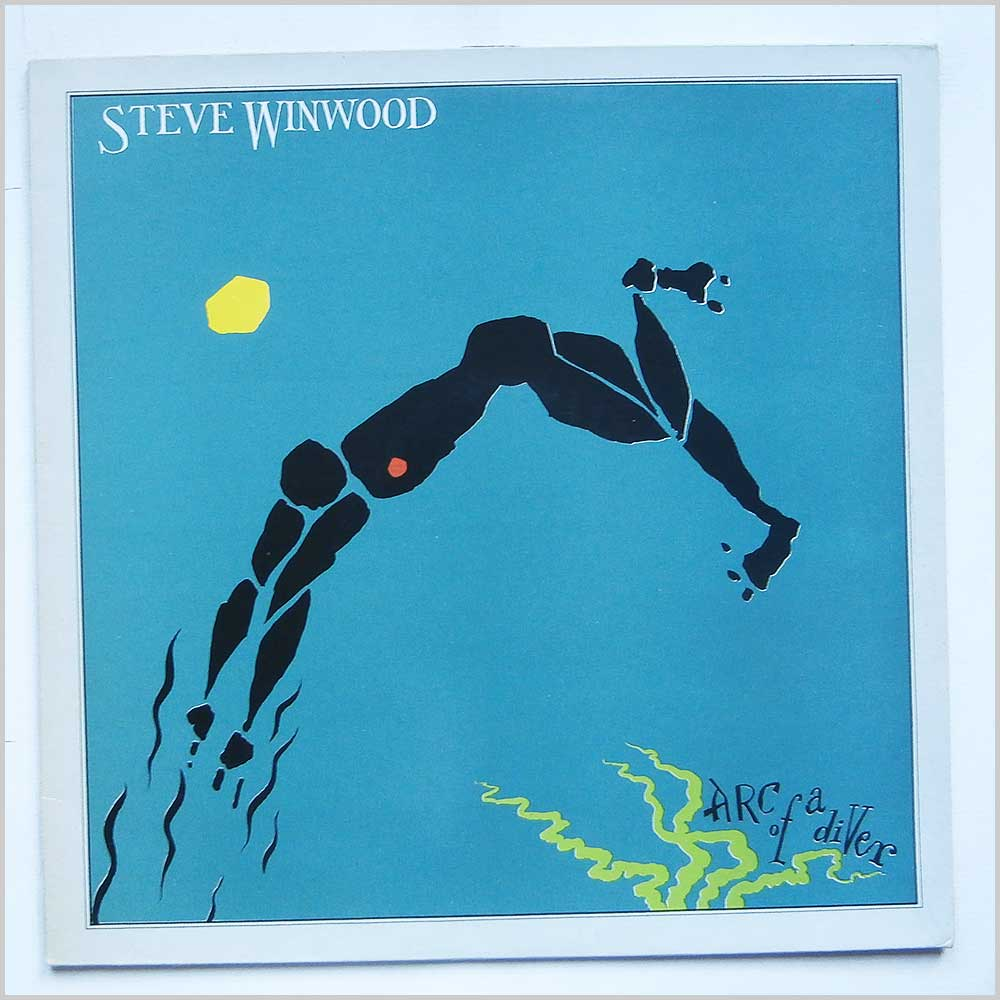 Steve Winwood - Arc Of A Diver (ILPS 9576)