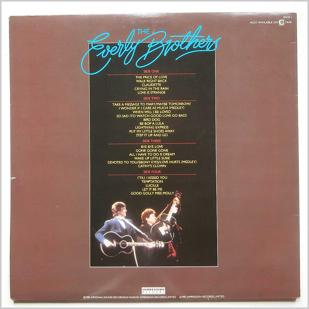 The Everly Brothers - The Everly Brothers Reunion Concert (IMDP 1)