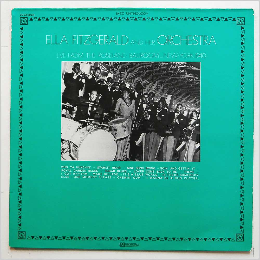 Ella Fitzgerald And Her Orchestra - Live From The Roseland Ballroom New York 1940 (JA 5228)