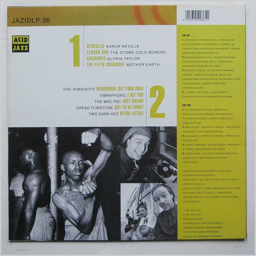 Various - A Collection From Acid Jazz Records (JAZIDLP 36)