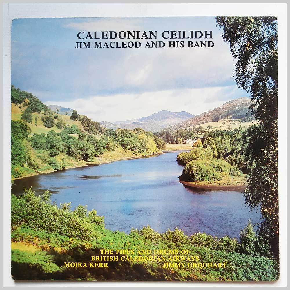 Jim MacLeod and His Band - Caledonian Ceilidh (JDM 200)