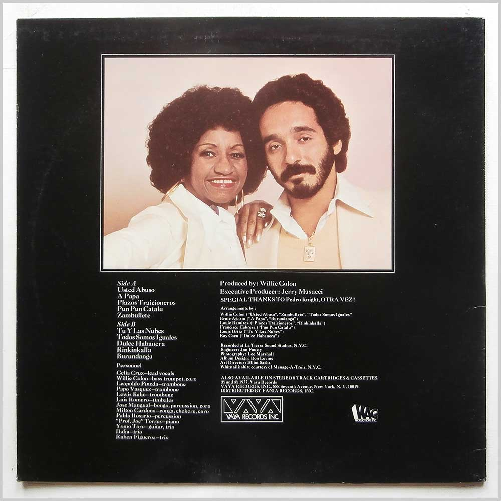 Celia Cruz and Willie Colon - Only They Could Have Made This Album (JMVS-66)