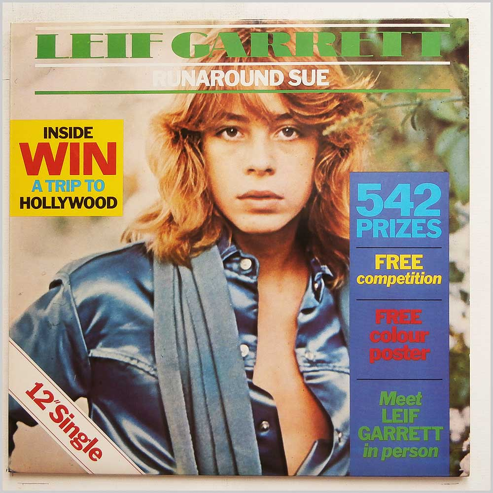 Leif Garrett - Runaround Sue / California Girls (K11090)