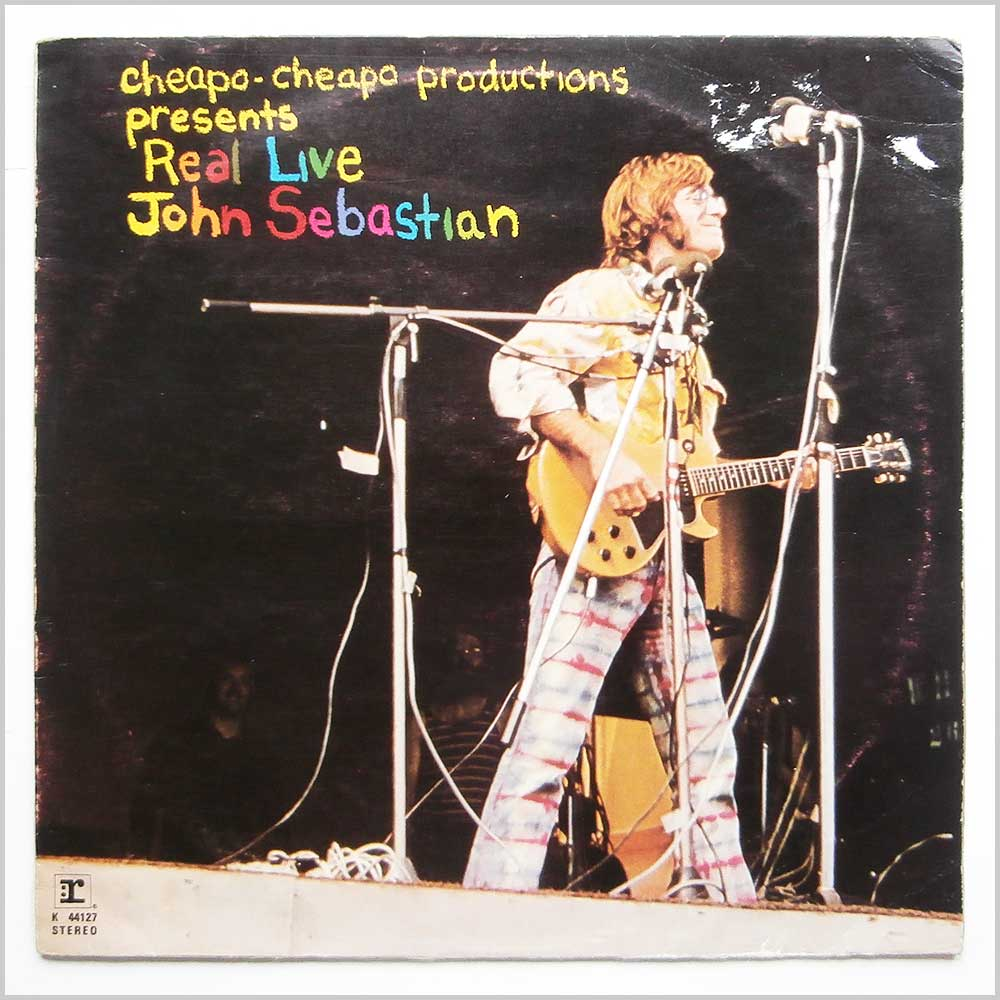 John Sebastian - Cheapo-Cheapo Productions Presents Real Live John Sebastian (K 44127)