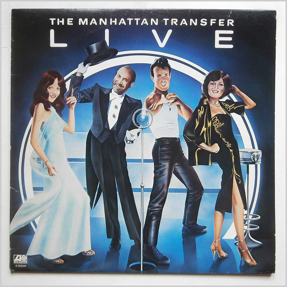 The Manhattan Transfer - The Manhattan Transfer Live (K50540)