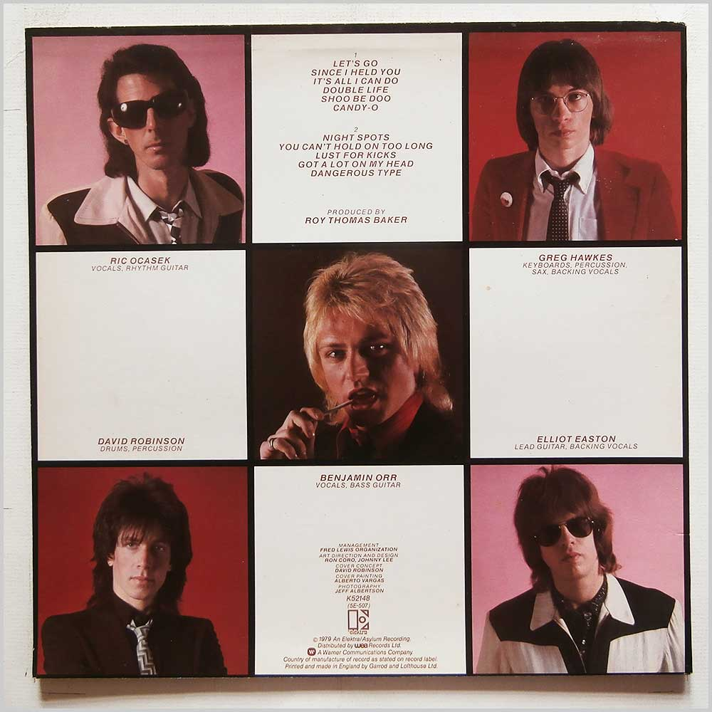 The Cars - Candy-O (K52148)