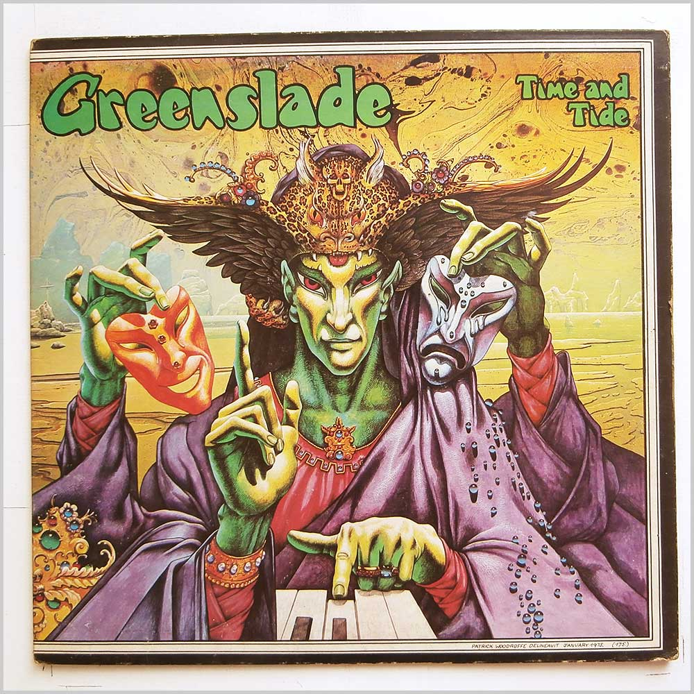 Greenslade - Time And Tide (K56126)