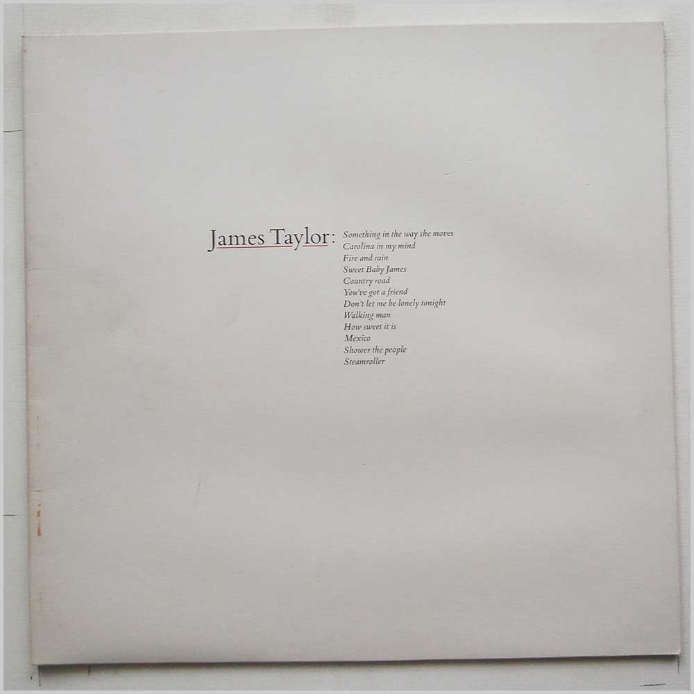 James Taylor - Greatest Hits (K56309)
