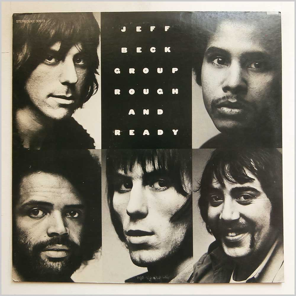 Jeff Beck Group - Rough And Ready (KE 30973)