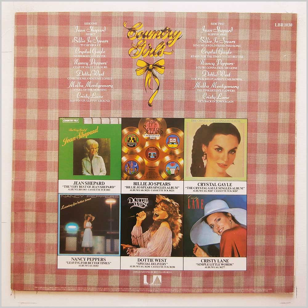 Various - Country Girls (LBR 1030)