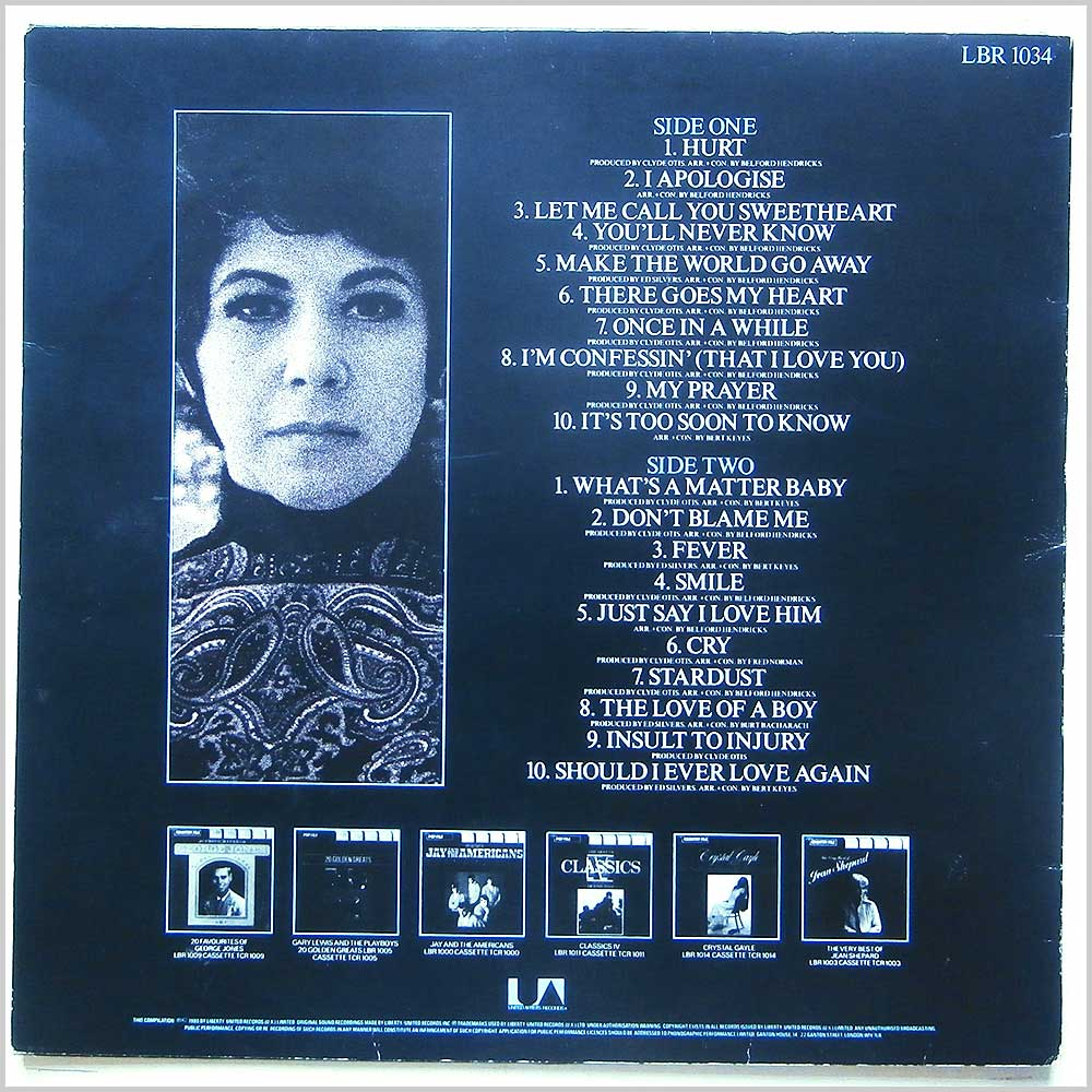 Timi Yuro - The Very Best Of Timi Yuro (LBR 1034)
