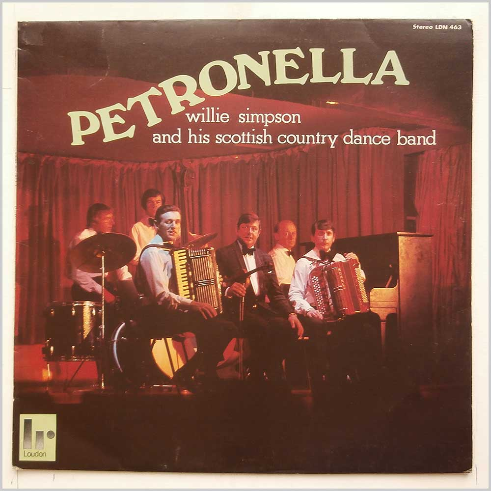 Willie Simpson and His Scottish Country Dance Band - Petronella (LDN 463)
