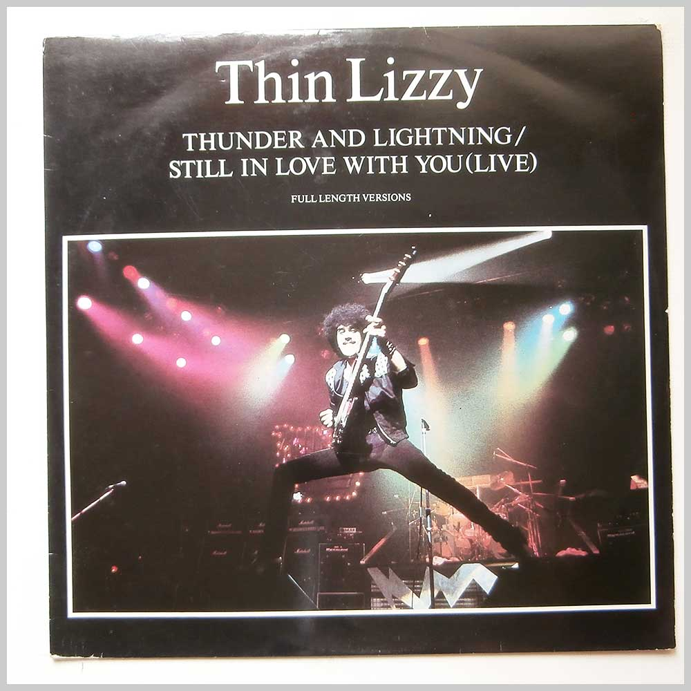 Thin Lizzy - Thunder And Lightning (LIZZY 1212)