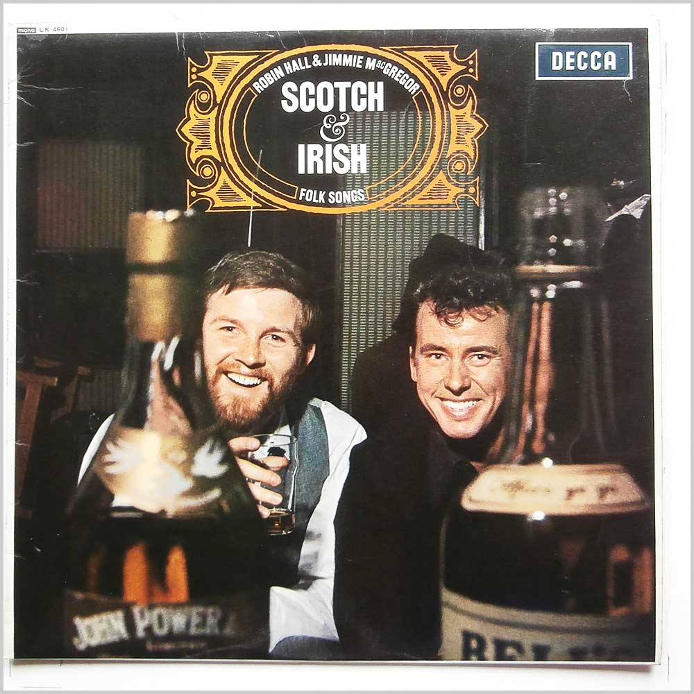 Robin Hall and Jimmie Macgregor - Scotch And Irish (LK 4601)