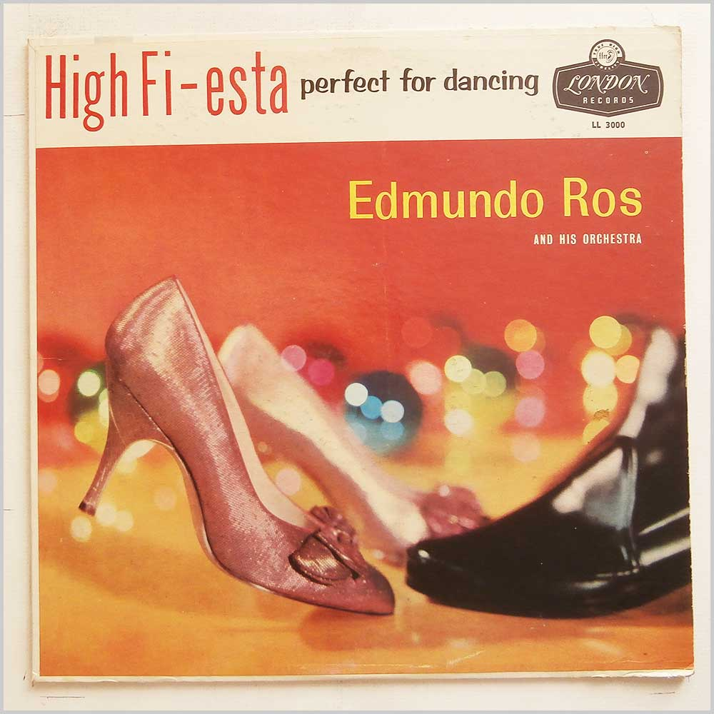Edmundo Ros and His Orchestra - High Fi-Esta Perfect For Dancing (LL 3000)