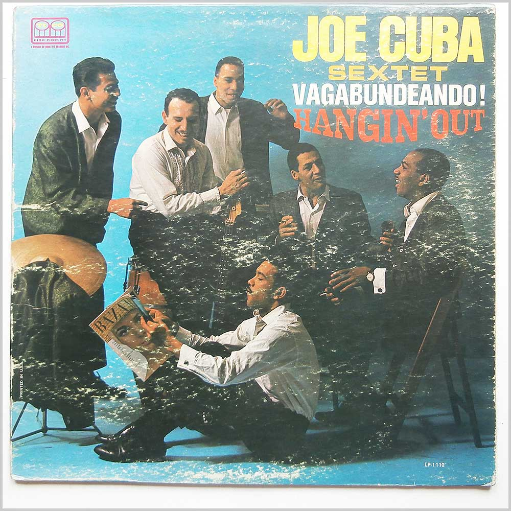 Joe Cuba Sextet - Vagabundeando! (Hangin' Out) (LP-1112)