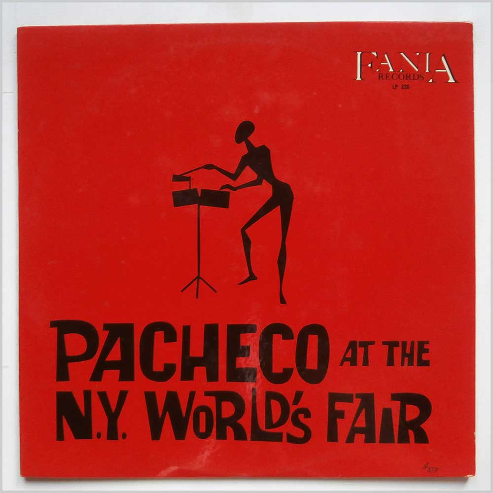 Johnny Pacheco - Pacheco At The N.Y. World's Fair (LP 326)