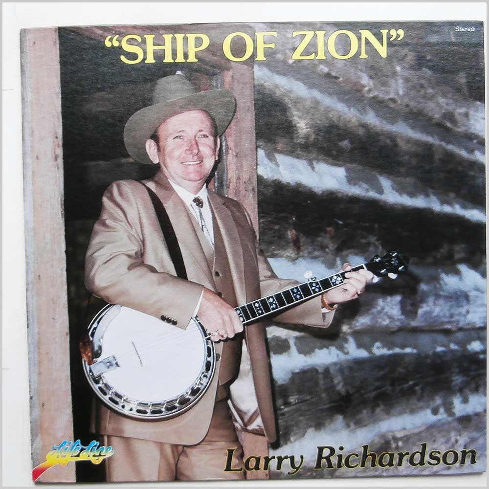 Larry Richardson - Ship of Zion (LP 4070)
