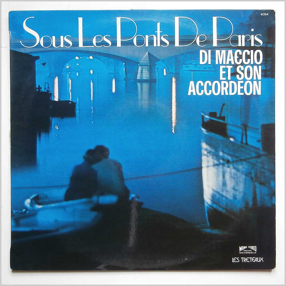 Christian Di Maccio et Son Accordeon - Sous Les Ponts de Paris (LP 6054)