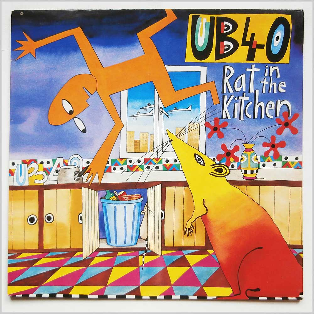 UB40 - Rat In The Kitchen (LP DEP 11)
