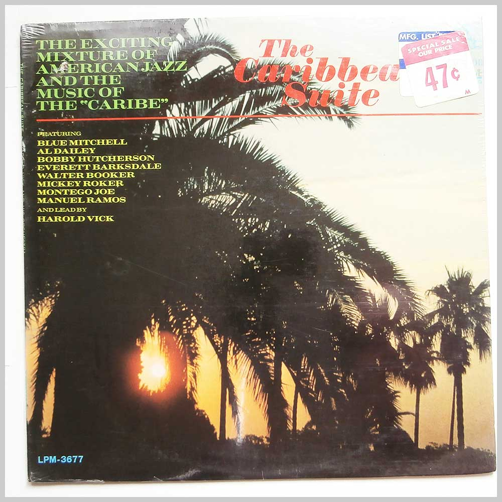 Harold Vick and His Orchestra - The Caribbean Suite (LPM-3677)