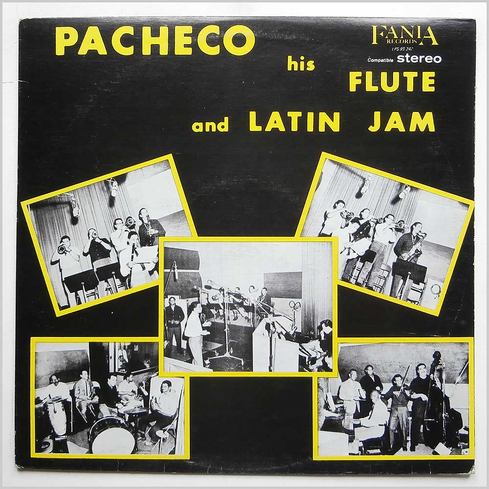 Johnny Pacheco - Pacheco His Flute And Latin Jam (LPS-99.242)