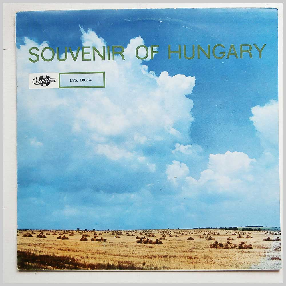 Gabor Kozak and His Gypsy Band - Souvenir Of Hungary (LPX 10063)